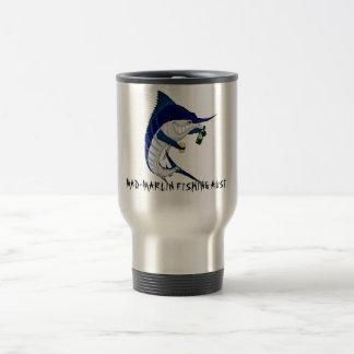 Kaffeereise-Tasse, MAD-MARLIN, das AUST FISCHT Edelstahl Thermotasse