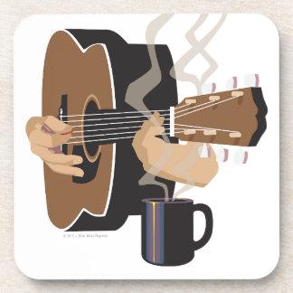 Kaffeestube-Gitarre Untersetzer