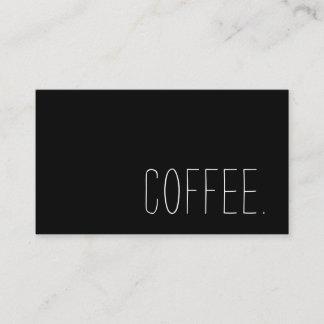 Kaffeestube-Loyalitäts-einfacher Durchschlag Treuekarte
