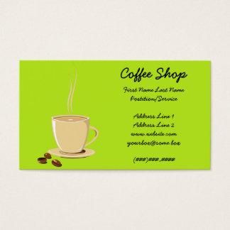 Kaffeestube Visitenkarte