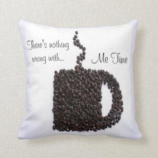 Kaffeetasse, Kaffeebohnen Kissen
