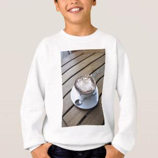 Kaffeetasse mit Creme Sweatshirt