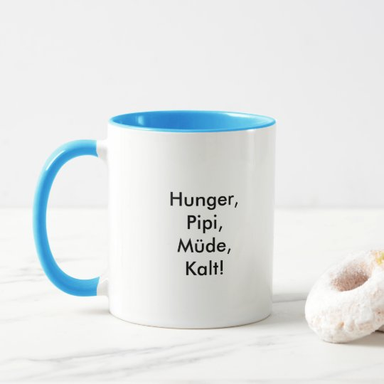 Kaffeetasse mit süßem Einhorn Spruch