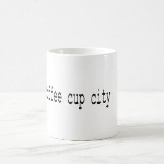 Kaffeetasse-Stadt Kaffeetasse