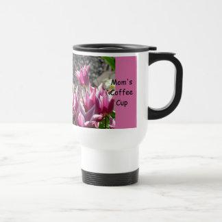 Kaffeetasse-Tulpe-Blumen-Garten der Mammas mit Blu Edelstahl Thermotasse