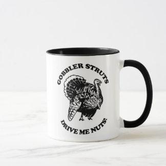 Kaffeetassegobbler-Spreizen fahren mich Nuts Tasse