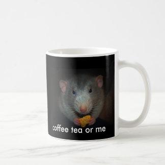 Kaffeetee oder -ich kaffeetasse