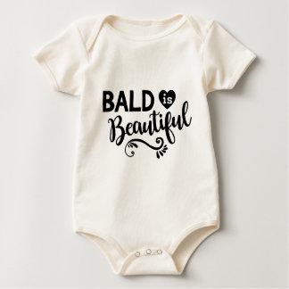 Kahl ist schön baby strampler