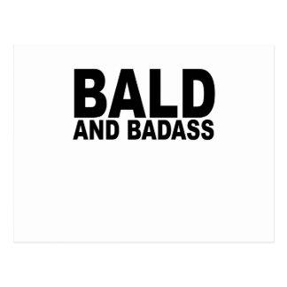 Kahl und Badass T-Shirts.png Postkarte