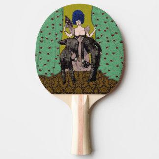 Kahle Männer - Klingeln Pong Paddel Tischtennis Schläger