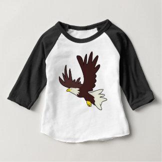 Kahler Adler-Cartoon Baby T-shirt