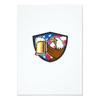 Kahler Adler, der Flaggen-Wappen Retr BierStein 11,4 X 15,9 Cm Einladungskarte