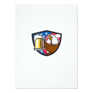 Kahler Adler, der Flaggen-Wappen Retr BierStein 14 X 19,5 Cm Einladungskarte