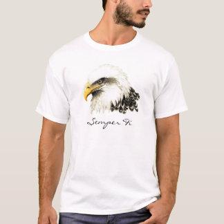Kahler Adler-MarineShirt Semper FI T-Shirt
