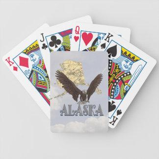 Kahler Adler-Staats-Karten-Spielkarte Alaskas Poker Karten