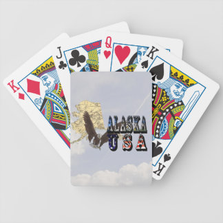 Kahler Adler-Staats-Karten-Spielkarte Alaskas Pokerkarten