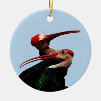 Kahler IBIS-Vogel Südafrika Keramik Ornament