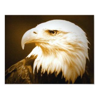 Kahles Amerikaner-Eagle-Auge 10,8 X 14 Cm Einladungskarte