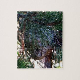 Kahles Gesichts-Hornissen-Nest Puzzle