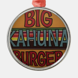 Kahuna Burger Silbernes Ornament