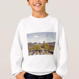 Kai des Louvre, Paris durch Claude Monet Sweatshirt