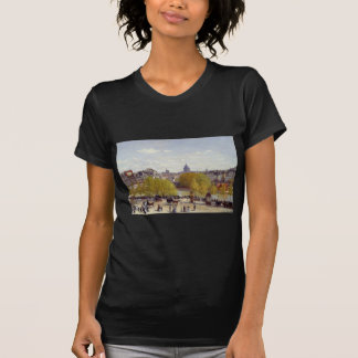 Kai des Louvre, Paris durch Claude Monet T-Shirt