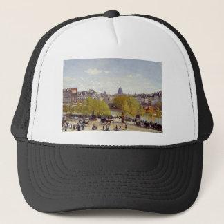 Kai des Louvre, Paris durch Claude Monet Truckerkappe
