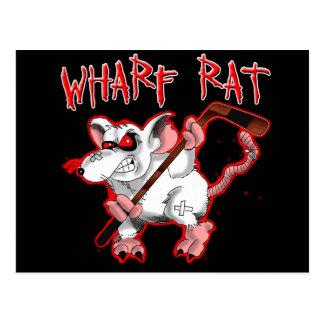 Kai-Ratten-Cartoon-Maskottchen Postkarten