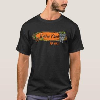 Kailua Kona Hawaii Typsurfbrett tiki T-Stück T-Shirt