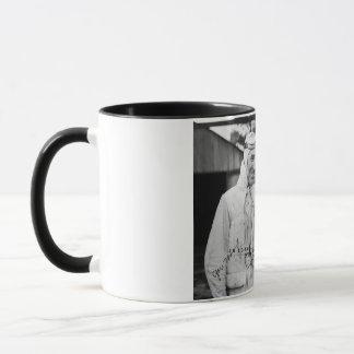 Kaimanfisch-Holz und Orlin Johnson - Vintages Tasse