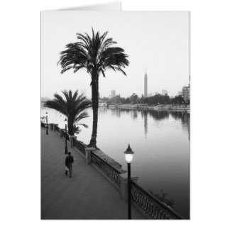 Kairo Ägypten, entlang dem Nil Karte