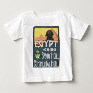 Kairo Ägypten - Vintage Reiseplakatkunst Baby T-shirt