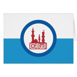 Kairo-Flagge Karte