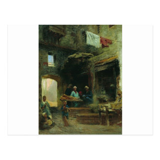 Kairo-Gericht durch Konstantin Makovsky Postkarte