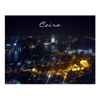 Kairo-Nachtansicht Postkarten