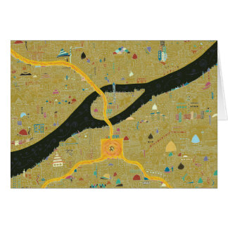 Kairo-Revolution - Karte