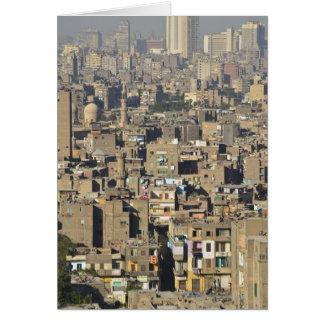 Kairo-Stadtbild Karte
