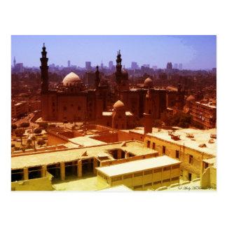 Kairo-Stadtbild Postkarte