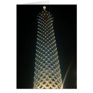 Kairo-Turm hoch Karte