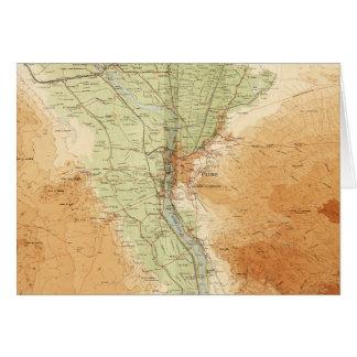 Kairo u. Umgebung, Karte von Ägypten (1925)