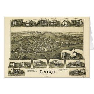 Kairo, West Virginia (1899) Karte