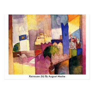 Kairouan (iii) bis August Macke Postkarte