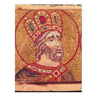 Kaiser Constantine I das große Postkarte