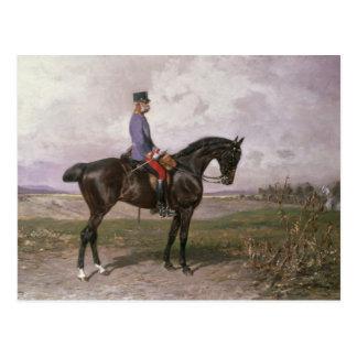 Kaiser Franz Joseph I auf seinem österreichischen Postkarte