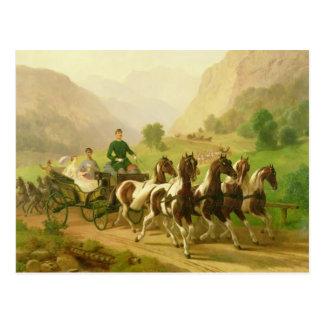 Kaiser Franz Joseph I von Österreich Postkarte