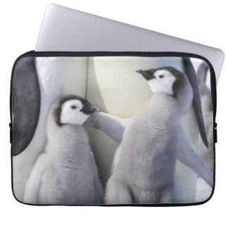 Kaiser-Pinguin-Küken Laptop Sleeve