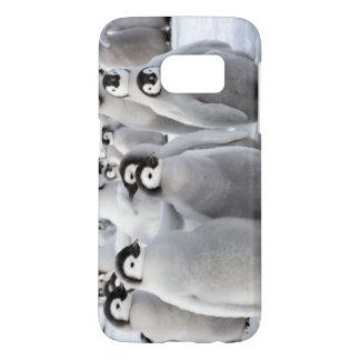 Kaiser-Pinguin-Küken - Samsung rufen Fall an