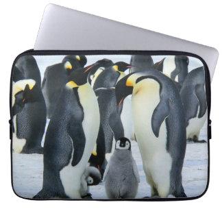 Kaiser-Pinguine Laptopschutzhülle