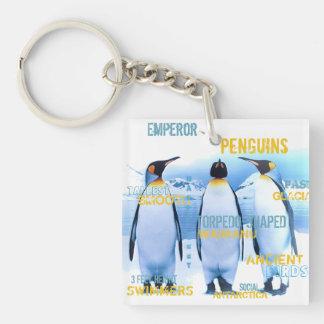 Kaiser-Pinguine Schlüsselanhänger