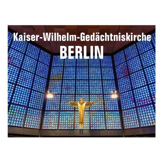Kaiser-Wilhelm-Gedächtniskirche, BERLIN Postkarte